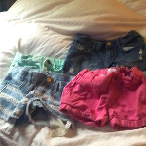 Sie 5 girls shorts
